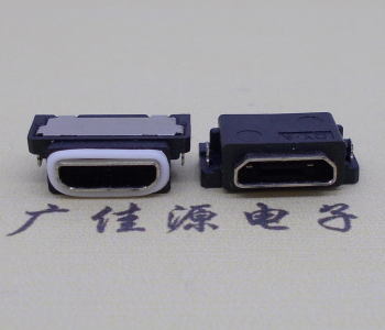 迈克USB防水接口沉板母座