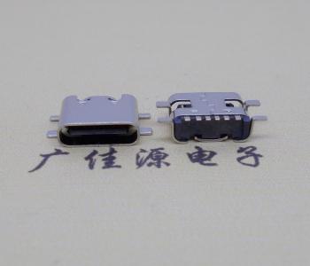 USB 3.1Typec6p四脚全贴接口