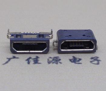 Micro USB反向防水母座接口