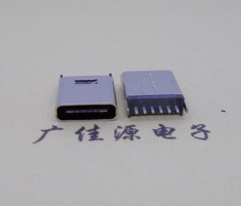 typec6p立插10.0mm连接器
