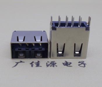 USB 2.0双面插充电接口