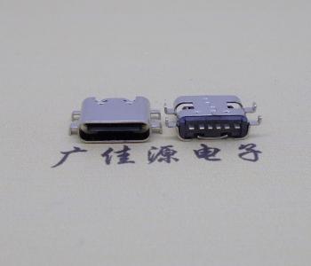 type-c接口6p母座沉版1.6端子
