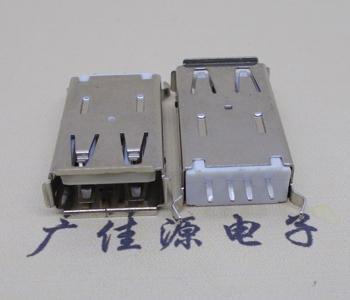 USB 加长体180度25.5mm弯脚尺寸