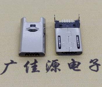 麦克铜壳USB接口公头