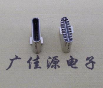 Type-c接口 16p立贴公头高度7.2mm尺寸