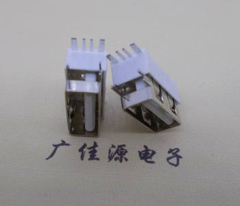 USB 2.0接口.侧插短体10.0尺寸5A大电流半包胶