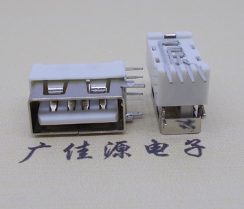 USB 短体10.0mm 侧立插座