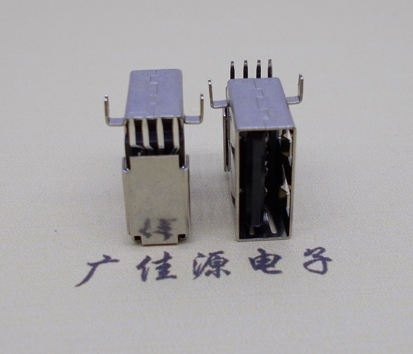 USBAF4pin母座立插接口