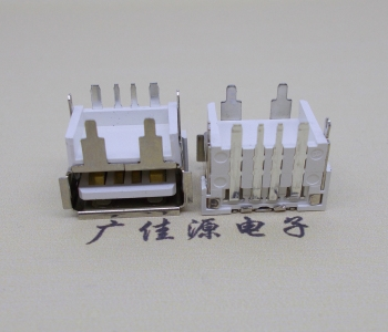 USB垫高H=9.8尺寸 4p端子母座