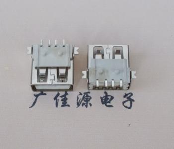 USB2.0全贴片无卷边转接头