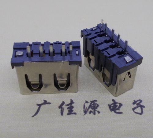 .USB立插短体5p母座3A大电流