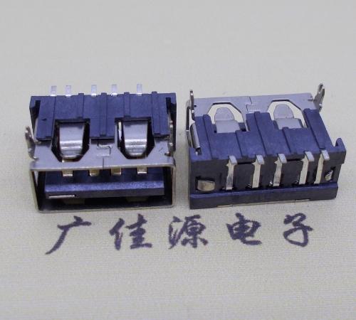 USBAF短体5p端子贴片胶芯6.5H