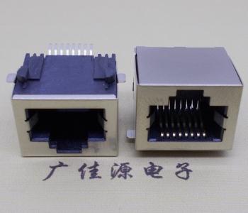 RJ45-15.5无灯无弹贴片网络接口