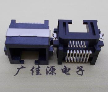 供应破板式RJ45系列-沉板高清网络接口