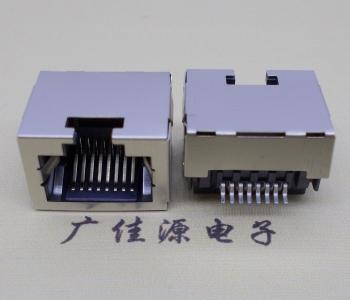 RJ45-沉板式 单层连接器带信号灯超薄网络接口