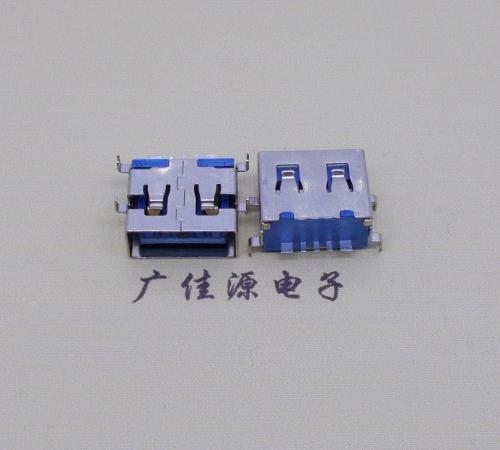 usb5p大电流高度11.0mm沉板1.2母座直边