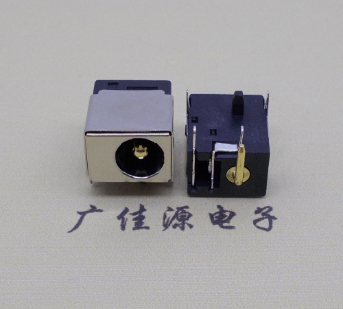 深圳DC插座-044F-2.0针-2.5针镀金-3A-5A大电流