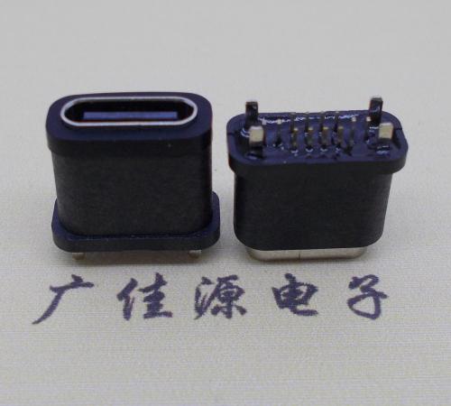 直插type-c16p防水母座